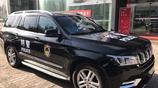 北汽BJ90被大量採購當警車,威武不輸路虎攬勝,不愧最貴國產SUV
