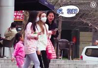李小璐帶甜馨逛街被拍進節目,無視阿姨求助引爭議