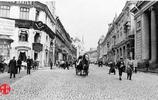 老照片,1909年末代沙皇統治下的莫斯科,此時為清朝的宣統元年