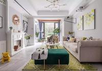 124㎡新家顏值開掛,美式輕奢風超顯大,檔次完勝豪宅!