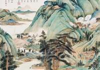 張大千先生臨董源一幅畫拍價1.32億,真乃神品!