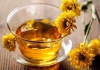 菊花茶清熱解毒嗎?
