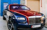 汽車界金字塔的最頂端——紅藍雙拼色版的勞斯萊斯-魅影