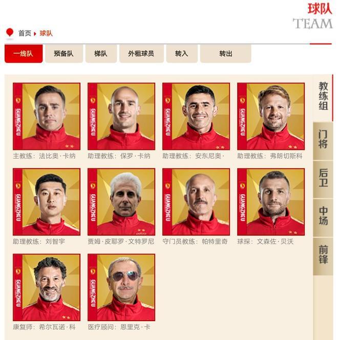 廣州恆大足球俱樂部官網:前尤文圖斯體能教練文特羅尼加盟球隊