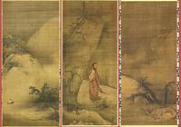 南宋 梁楷 出山釋迦圖|雪景山水圖