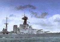 """二戰英國皇家海軍象徵""""胡德號戰列巡洋艦""""!"""