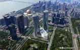 """中國有個""""倒褲衩""""雙子樓位於杭州錢江新城,如今成為杭州新地標"""