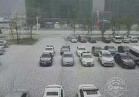 安圖延吉突降冰雹