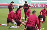 廣州恆大賽前訓練