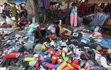 實拍印度新德里最大的集市,所售賣的貨物,全是廢品!