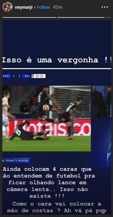 爆歐足聯或將重罰內馬爾,對比C羅巴西球星處境尷尬!