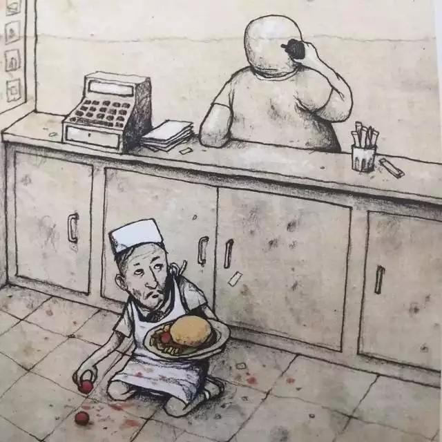20張毒雞湯漫畫 一張比一張扎心 一張比一張犀利