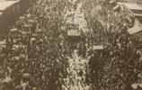 老照片:光緒皇帝葬禮真實場面,中國最後一位帝王的葬禮