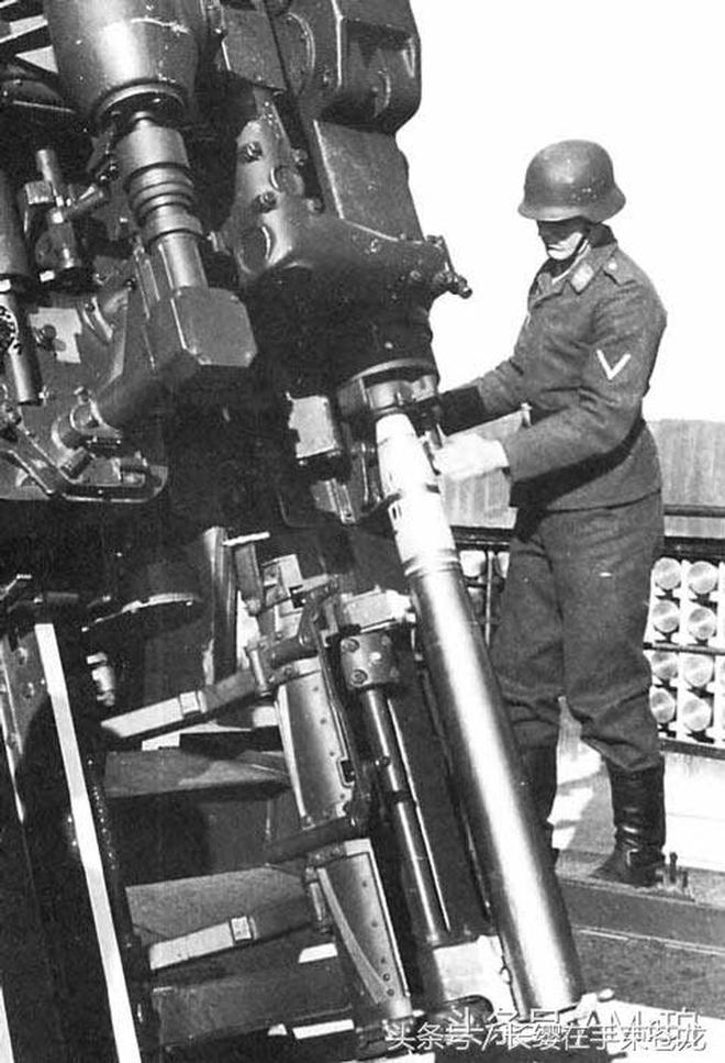 一門高射炮的射高堪比防空導彈