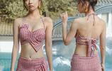 泳池發現:比基尼過時了!美女們都兩件套,瞬間美成風景線