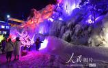 甘肅積石山:美麗冰瀑迎客來