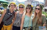 拉脫維亞首都的仲夏節集市