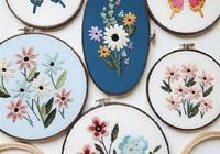 這個春天,送你60副精美的花草刺繡,帶針法玩轉刺繡!收藏
