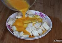 豆腐裡打2個雞蛋,沒想到這麼好吃,營養又解饞,我家一週吃三次