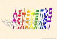 中考備考:中考文言文複習指導