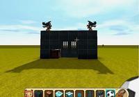 迷你世界:玩家制作高級自動感應門,只要自動識別,就可以進入!