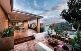 庭院設計:用紅磚鋪地面的花園,居然也能做出這麼好看的效果,贊