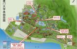 看了廈門大學的校區圖,真想再參加一次高考