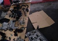 奧迪A6大修發動機全過程