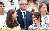 梅根產後第四次亮相,出現溫網為閨蜜加油,拒絕與凱特王妃同臺