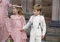 英國王室風雲:圖1擔任花童的威廉王子,圖四戴安娜王妃的訂婚照