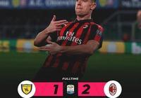 意甲-比格利亞任意球建功皮亞特克破門 AC米蘭2-1切沃