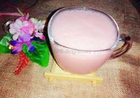 草莓紅棗奶昔