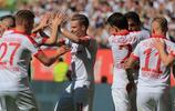 足球——德甲:奧格斯堡勝漢堡