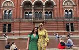 伊萬卡出訪英國王室選錯衣服,穿白色寬鬆休閒西裝顯肩寬