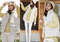 羽絨馬甲+衛衣,冬天這種時髦的穿搭方式,誰學會了都很潮!