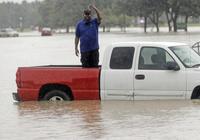 """水淹休斯敦!""""史無前例""""颶風橫掃美國能源之都"""