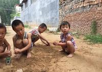農村小孩兒的童趣,回不去的小時候