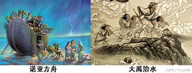 中國神話與西方神話的不同