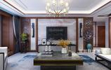 139㎡新中式設計案例,古韻十足的客廳最漂亮,給大家晒晒