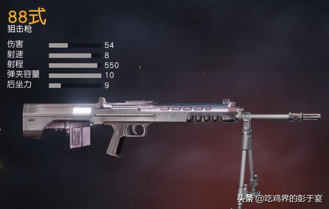 只知道AWM、M24、98K?這兩把我們國產狙擊槍一點不比他們弱!