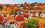波士頓的秋天,五彩斑斕的城市