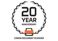 佳能電子推出文件掃描儀產品20週年