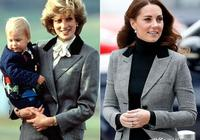戴安娜給凱特王妃留下很多珠寶,凱特王妃多次戴上它們向婆婆致敬