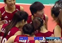 世聯賽巴西站末戰,中國女排3-1多米尼加,段放成為最大功臣,如何評價本場比賽?