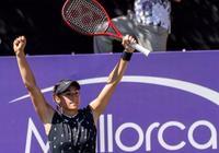 馬洛卡草地賽三位前球后二喜一憂,科貝爾莎娃相約第二輪阿扎出局