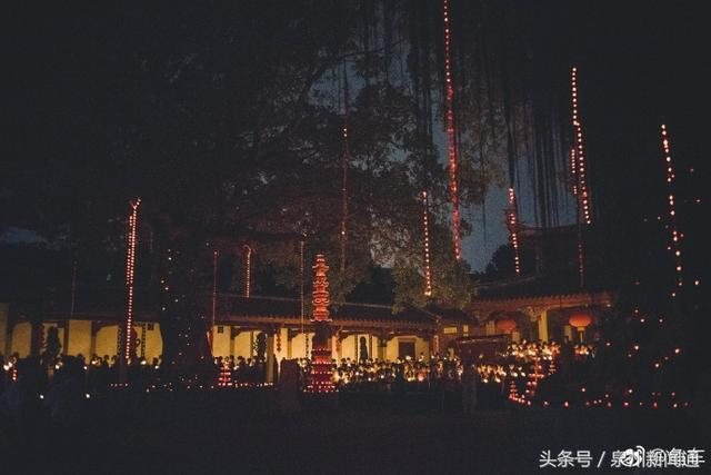 """四月初八""""太子生""""的浴佛節,泉州承天寺一年一度傳燈盛會"""