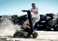 私人小坦克?平衡車中的小越野?無懼泥濘雪地的全地形平衡車
