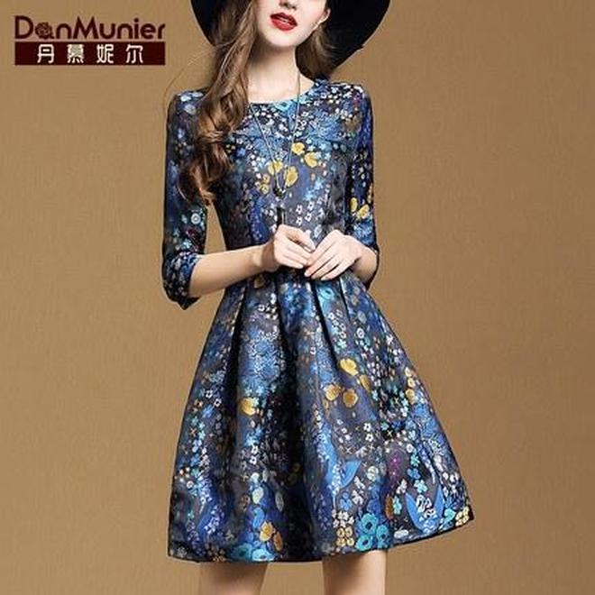 經典完美丹慕妮爾秋冬女裝,浪漫時尚花式海洋,你冬日裡的陽光