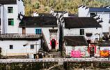"""中國最圓的村落菊徑村,符合中國八卦""""後山前水""""設計"""