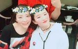 張靚穎與劉亦菲慶生,兩人一對比,劉亦菲把主角張靚穎比了下去